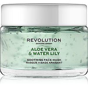 Revolution Skincare Aloe Vera & Water Lily masca calmanta pentru fata imagine