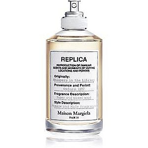 Maison Margiela REPLICA Whispers in the Library Eau de Toilette unisex imagine