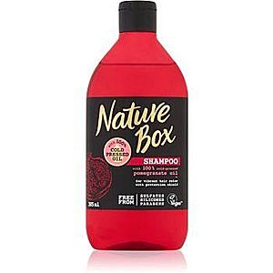 Nature Box Pomegranate sampon revitalizant si hidratant pentru protecția culorii imagine