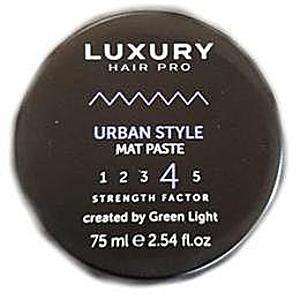 Pasta Mata pentru Par Urban Style - Factor de Fixare 4/5 Green Light, 75 ml imagine