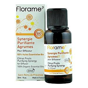 Sinergie purifianta Citrice Florame, bio, 30 ml imagine
