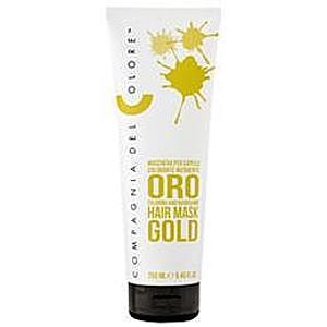 Masca Coloranta Nuantatoare Compagnia del Colore, nuanta Gold, 250 ml imagine