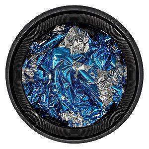 Foita Unghii LUXORISE - Unique Blue & Silver #05 imagine