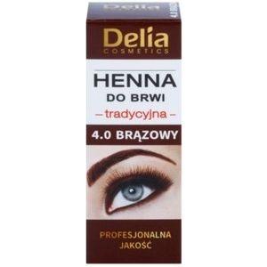 Delia Cosmetics Henna culoare pentru sprancene imagine