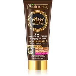 Bielenda Magic Bronze Crema pentru bronzare pielea inchisa la culoare cu efect de hidratare imagine