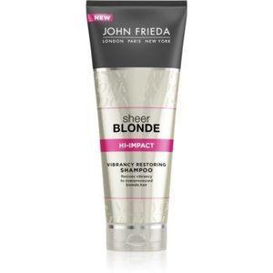 John Frieda Sheer Blonde sampon pentru regenerare pentru par blond imagine