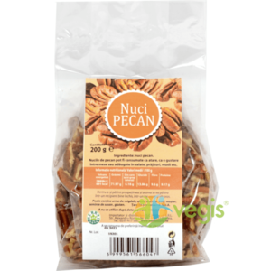 Nuci Pecan 200g imagine