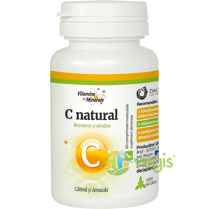 C Natural (Vitamina C) cu Catina si Amalaki 60Cpr imagine