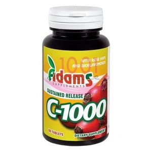 ADAMS C 1000 SUPLIMENTE ALIMENTARE 60 TABLETE imagine