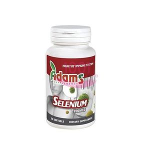 ADAMS SELENIUM SUPLIMENTE ALIMENTARE 30 TABLETE imagine