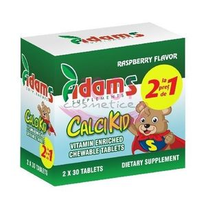 ADAMS SUPPLEMENTS CALCIKID PACHET 1+1 GRATIS imagine