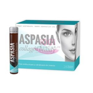 ASPASIA COLLAGEN BEAUTY SUPLIMENT ALIMENTAR 28 FLACOANE imagine