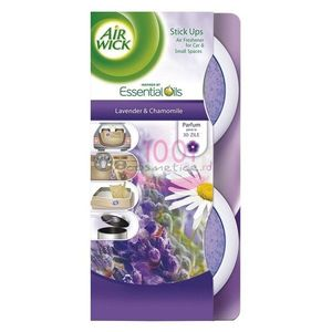 AIR WICK ESSENTIAL OILS STICK UPS ODORIZANT LAVANDER & CHAMOMILE SET 2 BUCATI imagine