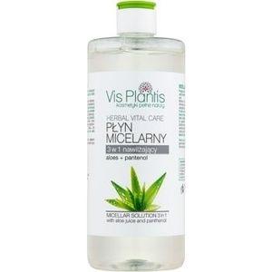 Vis Plantis Herbal Vital Care Aloe Juice & Panthenol apa cu particule micele 3 in 1 imagine
