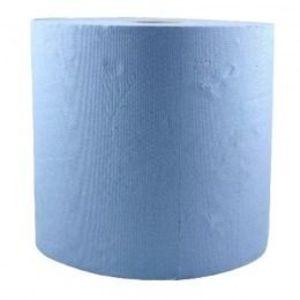 Rola Hartie Industriala Albastra - Prima Blue Towel Tissue Paper Roll 26 cm x 296 m imagine