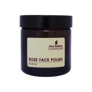 Exfoliant fata cu tripla actiune, lumineaza si netezeste tenul instantaneu - Hera medical rose face polish cleanser 60 ml imagine