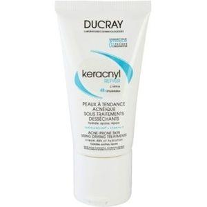 Ducray Keracnyl crema regeneratoare si hidratanta pentru piele uscata si iritata in urma tratamentului antiacneic imagine