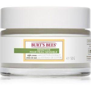 Burt's Bees Sensitive crema hidratanta de noapte pentru piele sensibilă imagine