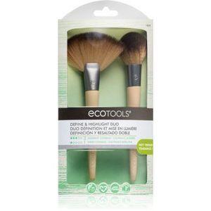 EcoTools Define & Highlight Duo set perii machiaj VII. pentru femei imagine