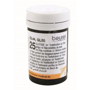 Set teste de glicemie, 2 x 25 buc. pentru glucometre GL 50 - Mărimea 60x75x50mm imagine
