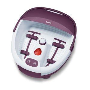 Cadita de masaj pentru picioare - violet/alb - Mărimea 365x424x170mm imagine