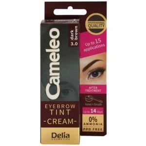 Delia Cosmetics Cameleo Vopsea crema profesionala pentru sprancene fără amoniac imagine