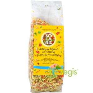 Condiment Belsug de Legume cu Verdeata si Sare Roz de Himalaya 100g imagine