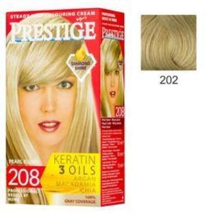 Vopsea pentru Par Rosa Impex Prestige, nuanta 202 Light Blonde imagine