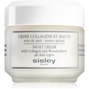 Sisley Night Cream with Collagen and Woodmallow crema de noapte pentru fermitate cu colagen imagine