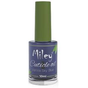 Ulei pentru Cuticule Miley Coconut Vanilla Sky Blue, 10 ml imagine