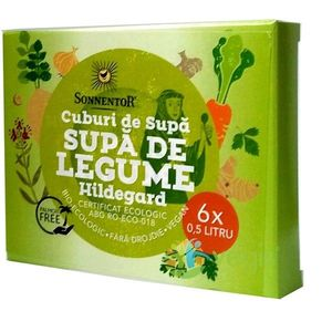 Cub De Supa Legume Hildegard Eco/Bio 6 Cuburi imagine