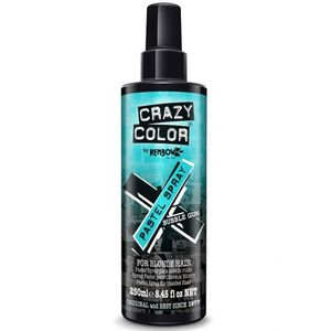 Spray colorant pentru parul blond, CRAZY COLOR Pastel Spray Bubble Gum, 250 ml imagine