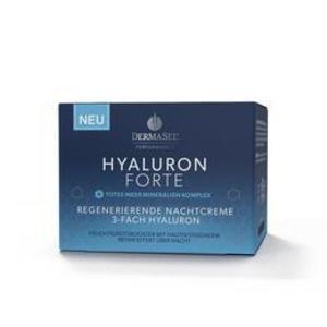 Crema de noapte faciala regeneranta cu acid hialuronic forte si minerale Dermasel 50 ml imagine