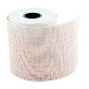 Hartie EKG Prima, pentru Hellige EK41/51, caroiaj rosu, rola 55mm x 20m, 5 buc imagine