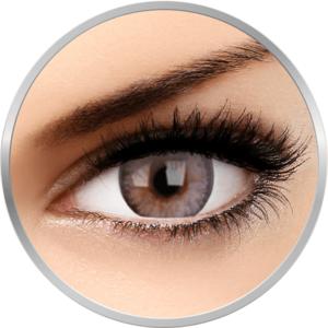 Mellow Passion Pearl - lentile de contact colorate gri trimestriale - 90 purtari (2 lentile/cutie) imagine