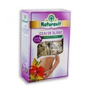 Naturavit - Ceai de slabit, 50 grame imagine