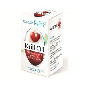 Krill Oil, 30 capsule imagine