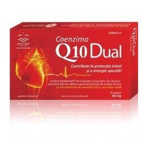 Coenzima Q10 Dual 60 mg, 30 capsule imagine