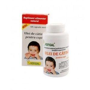 Ulei de catina pentru copii, 60 capsule imagine