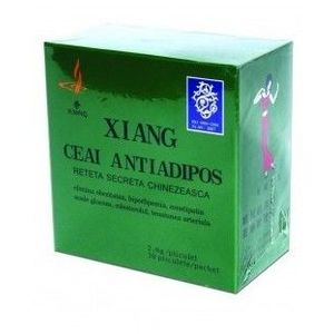 Ceai Antiadipos China, 2.5 grame x 30 doze imagine
