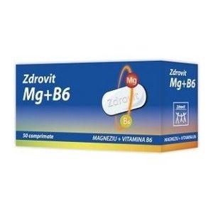 Magneziu + vitamina B6, 50 tablete imagine