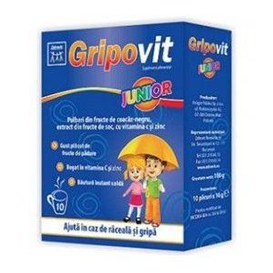 Gripovit Junior, 10 doze imagine