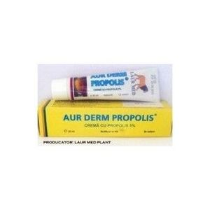 Aur Derm crema cu propolis 5%, 30 ml imagine