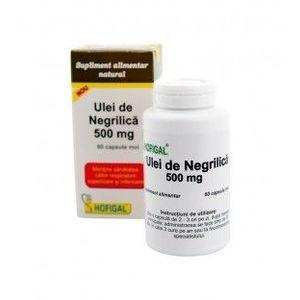 Ulei de negrilica 500 mg, 60 capsule imagine
