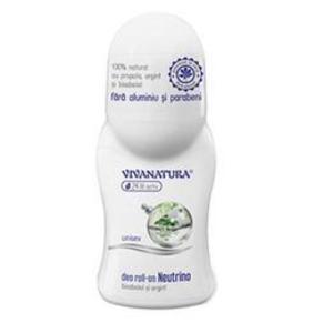 Deodorant Roll-On Neutrino Bisabolol si Argint Vivanatura, 50 ml imagine