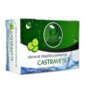 Sapun cu Extract de Castravete Ortos Prod, 100 g imagine