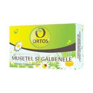 Sapun cu Musetel su Galbenele Ortos Prod, 100 g imagine