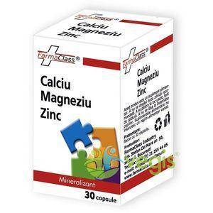 Calciu Magneziu Zinc 30 Cps imagine