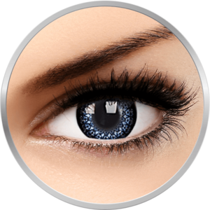 Eyelush Aqua - lentile de contact colorate albastre trimestriale - 90 purtari (2 lentile/cutie) imagine