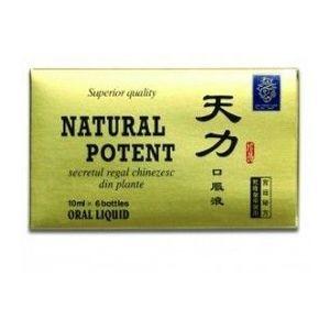 Natural Potent, 6 fiole x 10 ml imagine